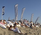 Beach event in Wijk aan Zee